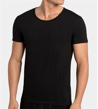 Billede af sloggi men 24/7 Shirt 03 O-Neck 2 Pack Sort XL