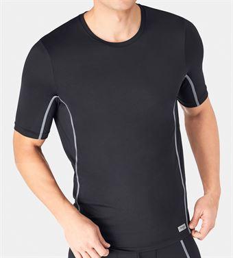 Image of   sloggi men mOve FLY O-Neck T-Shirt Sort S-XXL
