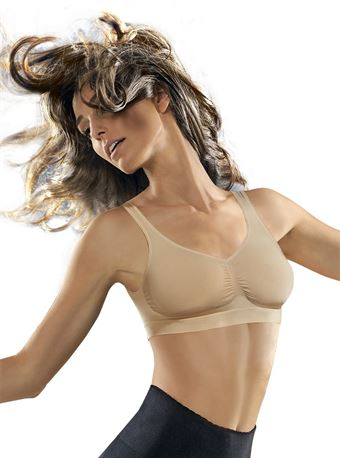 Image of   ControlBody Medium Compression Push-up BH Skin M/L