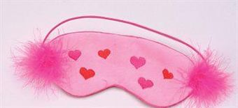 Image of   Shirley - Sleep Mask/Lovers Mask Faux Fur
