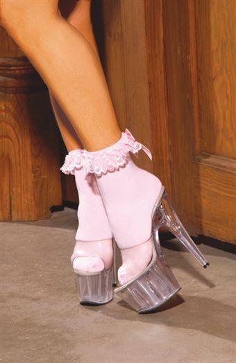 Billede af Elegant Moments Anklet With Ruffle & Satin Bow