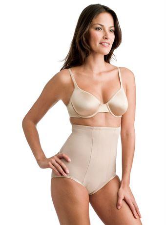 Image of   Miraclesuit® Hi-Waist Breif 2705 Beige Large