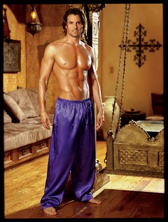 Dreamgirl Unisex Sleepwear Pants Purple