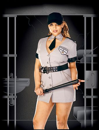 Dreamgirl Corrections Officer Plus Size