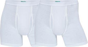 Image of   jbs Organic Cotton Tights 380 06 01 2-Pack Hvid 2X-Large