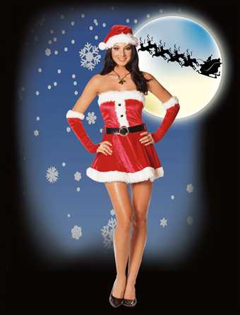 Dreamgirl Santas Sweetie Medium