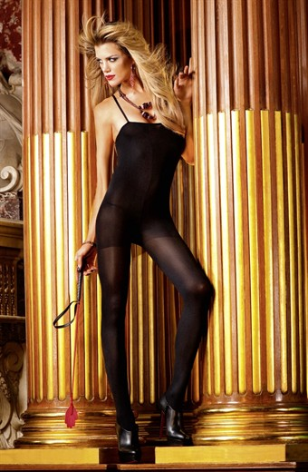 Image of Baci Lingerie - Sort bodystocking