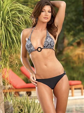 Image of   Dreamgirl Reversible Halter Swimsuit M/L