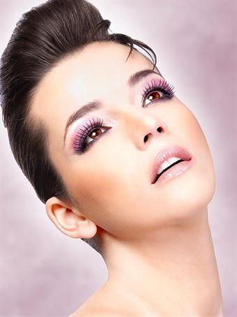 Billede af Baci Lingerie - Sorte Deluxe øjenvipper