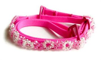 Image of   Bra Straps Couture Pink