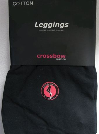 Image of   Crossbow leggings i bomuld i sort