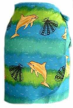 Billede af Delfin Blue - kort slåom