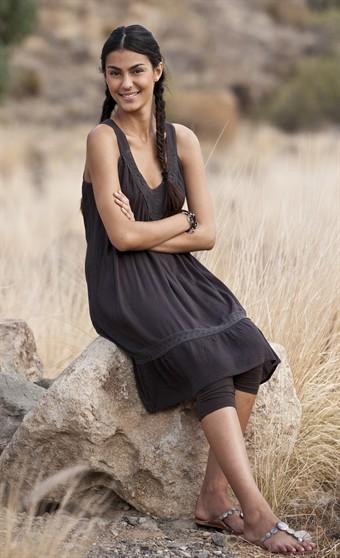 Billede af Capri Collection Elina Tunika Brun