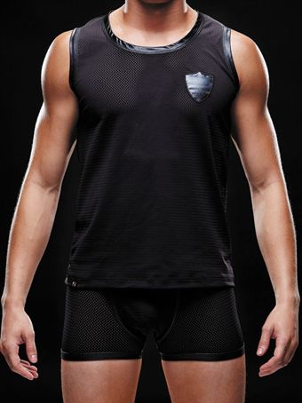 Billede af Envy Mens Wear - Athletic Tank Top Black S-XL