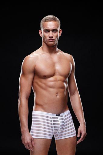 Billede af Envy Mens Wear - Microfiber Tights White S-XL