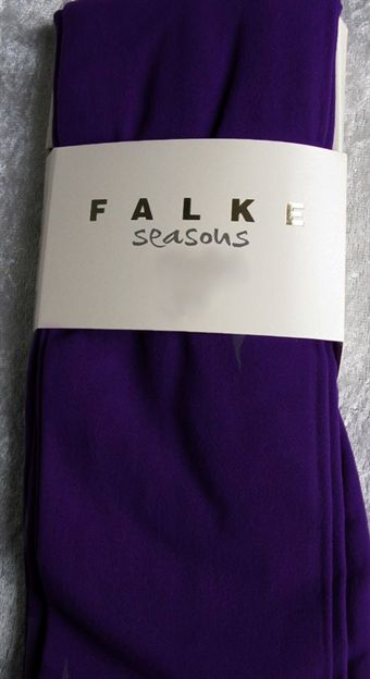 Image of   Falke 3/4 model legging i Grape