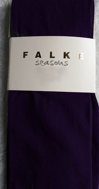 Image of   Falke 3/4 model legging i Mørkelilla