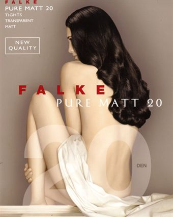 Image of   Falke Pure Matt 20 den