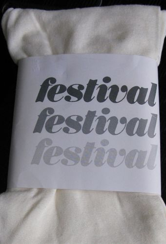 Image of   Festival leggings i Creme