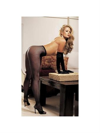 Image of   Fishnet Stretch Panty Hose One Size