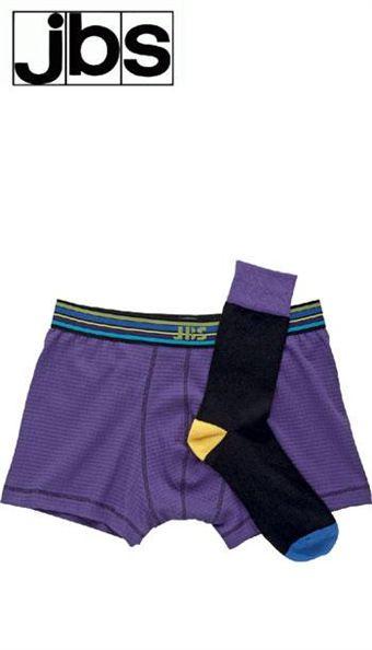 Image of   Gaveæske fra jbs med tight og matchende strømper