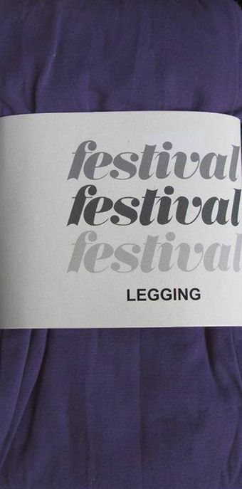 Image of   Festival leggings i lilla