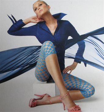 Image of   Platino Delia Leggings i turkis, grøn, sort