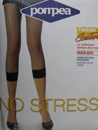 Billede af Pompea Net Leggings Rød eller Sort