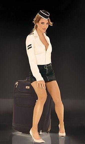 Billede af Elegant Moments Airline Stewardess